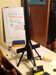 Here's how I set up a whiteboard animation at home.