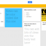 Google Keep is like a bulletin board you can keep with you wherever you go. It's perfect for organizing ideas or quickly jotting down inspiration.
