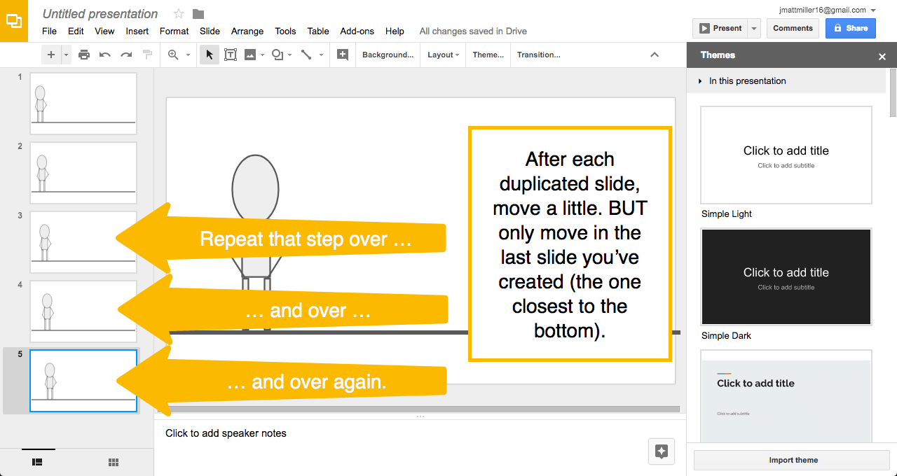duplicate over and over animation (2) | Ditch That Textbook