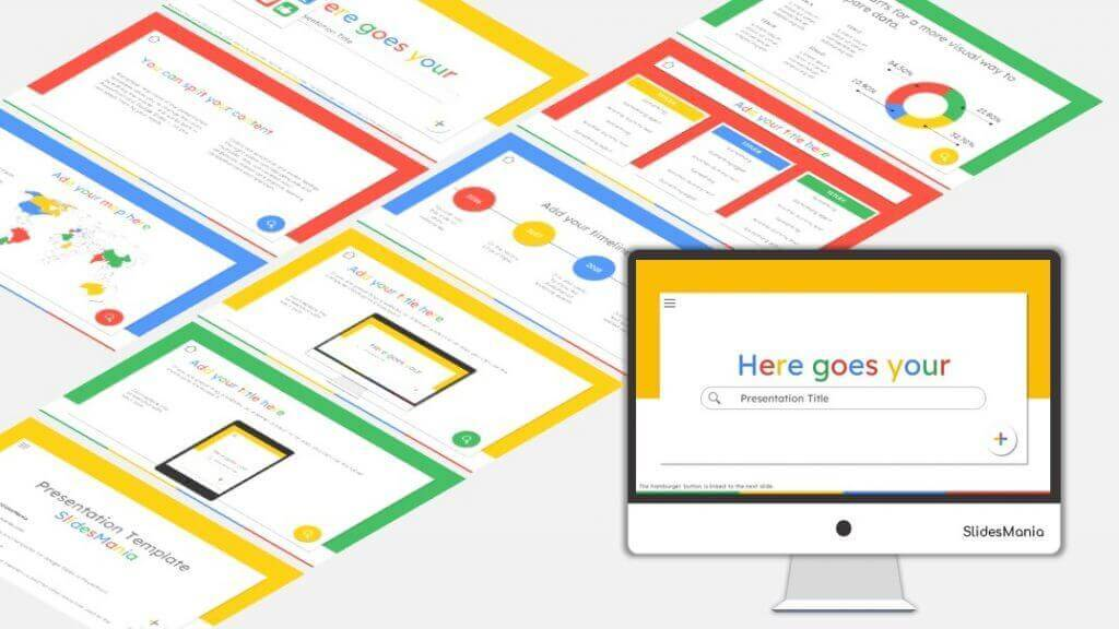Colorful Google style theme.