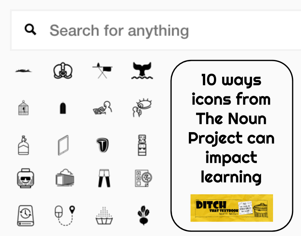 10 ways icons from The Noun Project ( thenounproject ) can impact learning