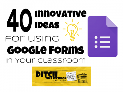 40 innovative ideas for using Google Forms in your classroom