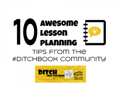 10 awesome lesson planning tips from the Ditchbook community