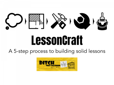 LessonCraft: A 5-step process to building solid lessons