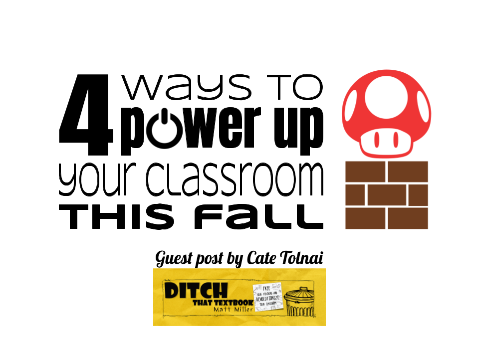 4 Ways to Power Up Your Classroom This Fall