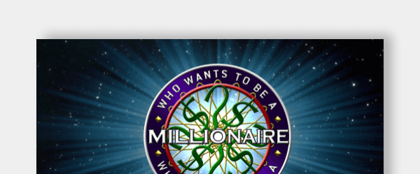 Google slides who wants to be a millionaire template