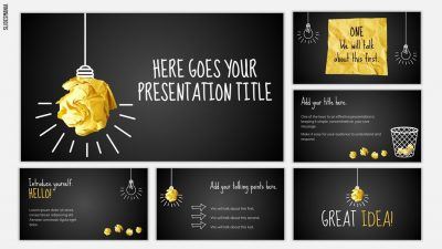 Potter Free Template for Google Slides or PowerPoint Presentations