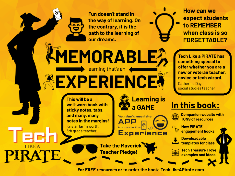 tech like a pirate overview graphic