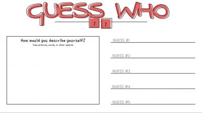 Guess Who Jamboard Template