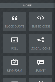 Embedding with Weebly