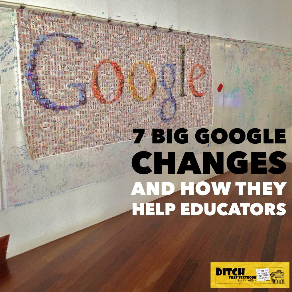 These Google Changes -- including Classroom, Keep, Calendar and more -- can boost productivity and create new possibilities in the classroom. (Image via Steve Jurvetson / Flickr / CC-BY-2.0)