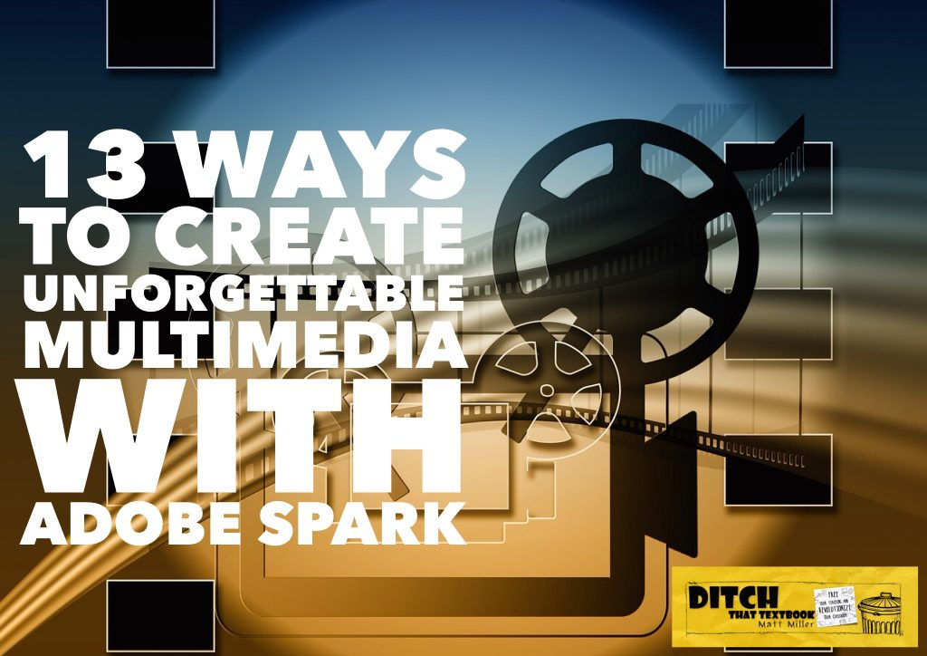 Creating great images, pages and video can spark students' interest in learning. Adobe Spark makes that possible for free. (Public domain image via Pixabay.com)