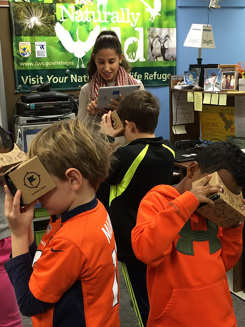 Google Expeditions lets students tour locations around the world in full 3D panorama. (Flickr / Laurie Sullivan / CC BY 2.0)