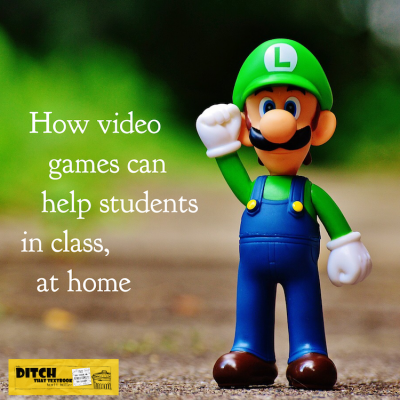 How video games can help students in class, at home