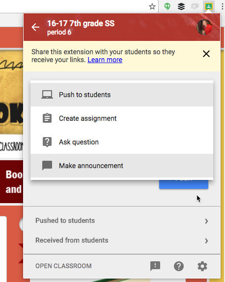 share-to-classroom-extension