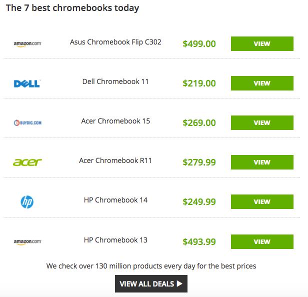 best 7 chromebooks