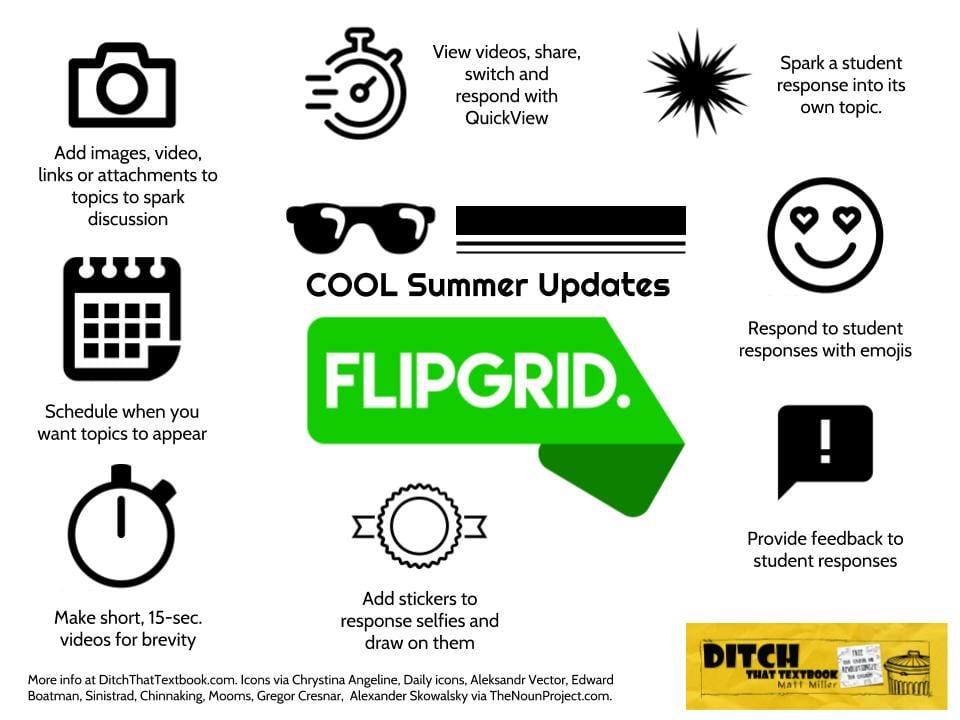 Cool summer flipgrid updates
