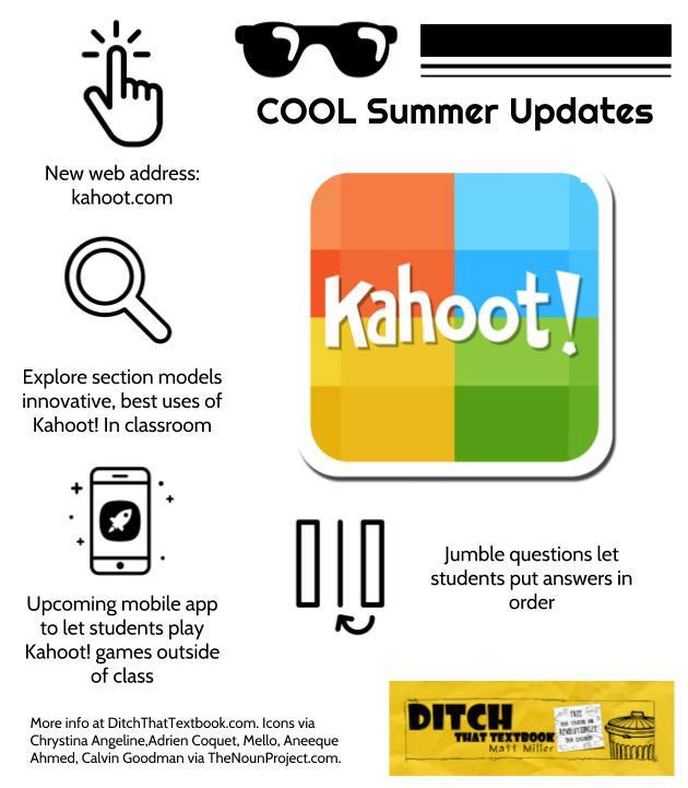 cool summer kahoot updates
