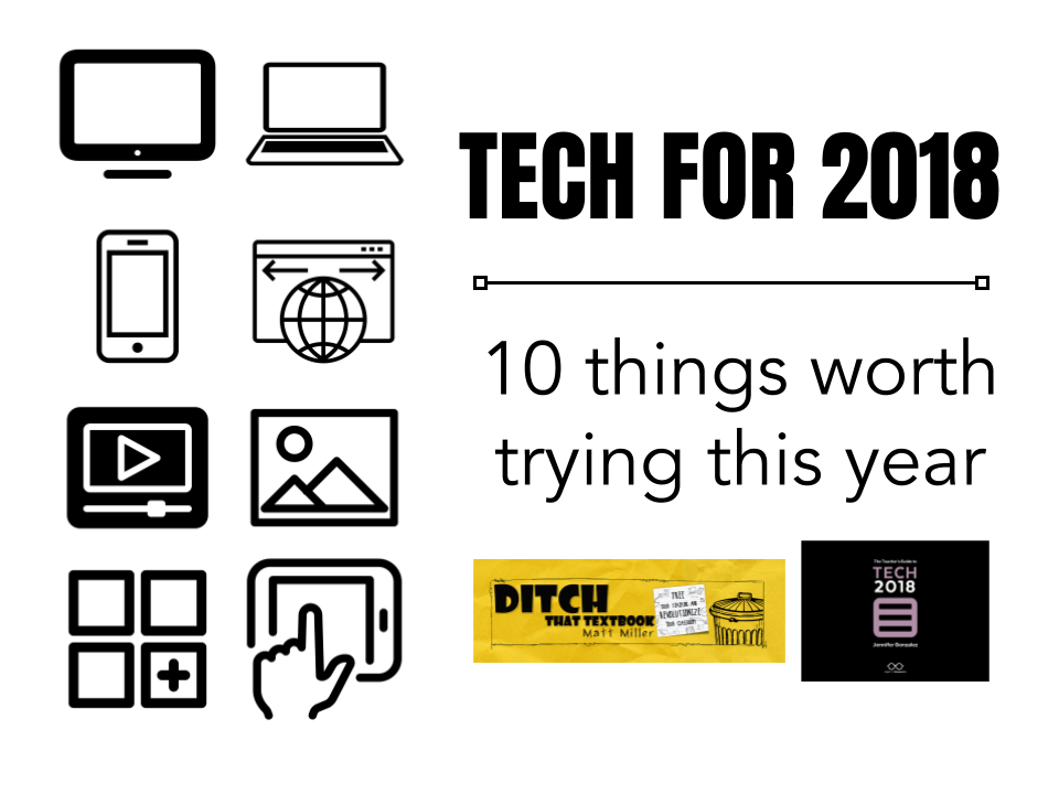 Tech for 2018: 10 things worth trying this year