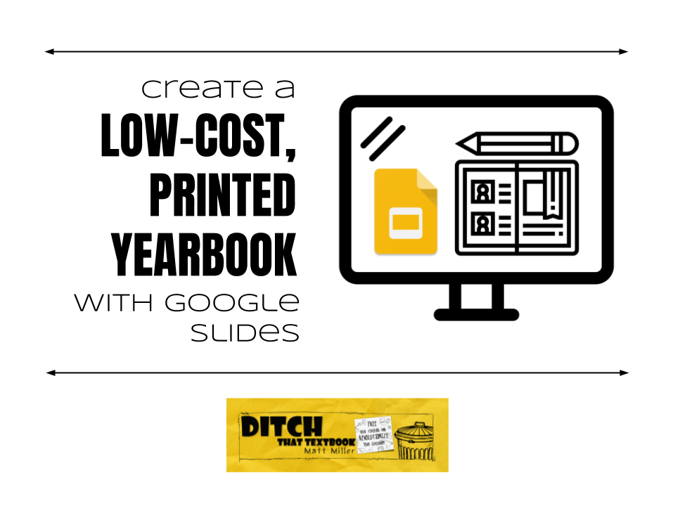 Create a low-cost, printed school yearbook with Google Slides