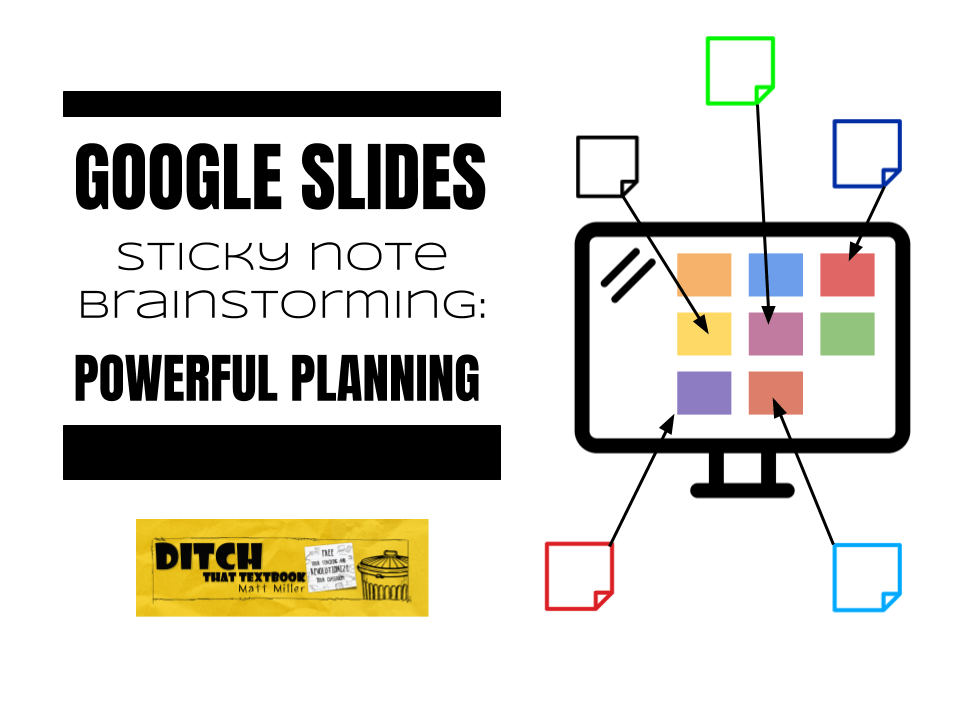 Google Slides sticky note brainstorming: Powerful planning