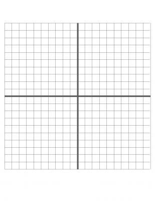coordinate plane template