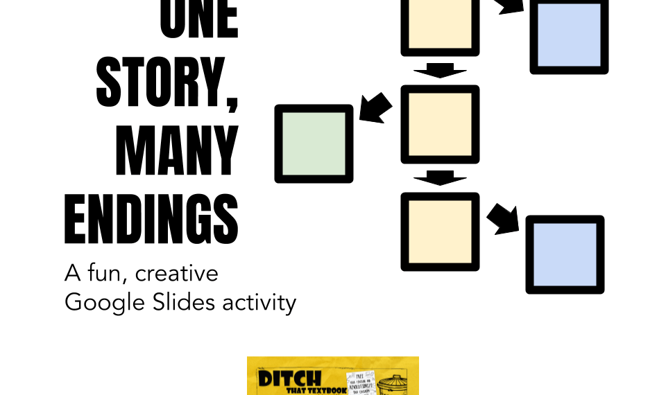 One story, MANY endings: A fun, creative Google Slides activity