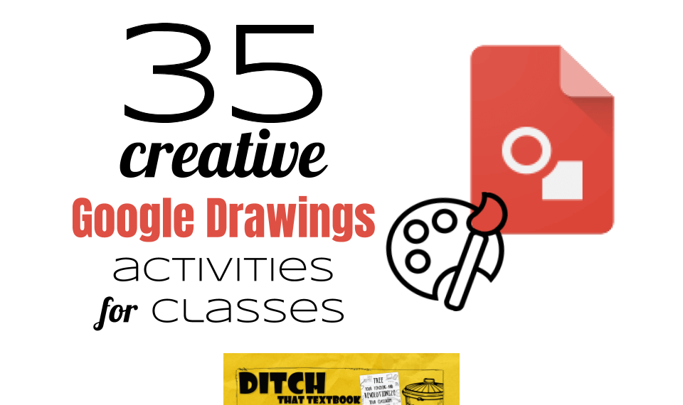 Google Drawings is like a blank canvas. It leaves plenty of opportunities for creativity in the classroom. Here are 35 activities to try with your students.