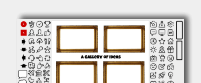 Art Gallery Icon Board Icon