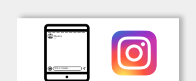 Instagram Stories Template Icon