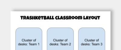 Trashketball game template