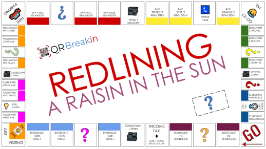 #QRBreakIN Raisin in the sun