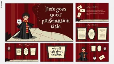 Harry Potter SlidesMania Theme