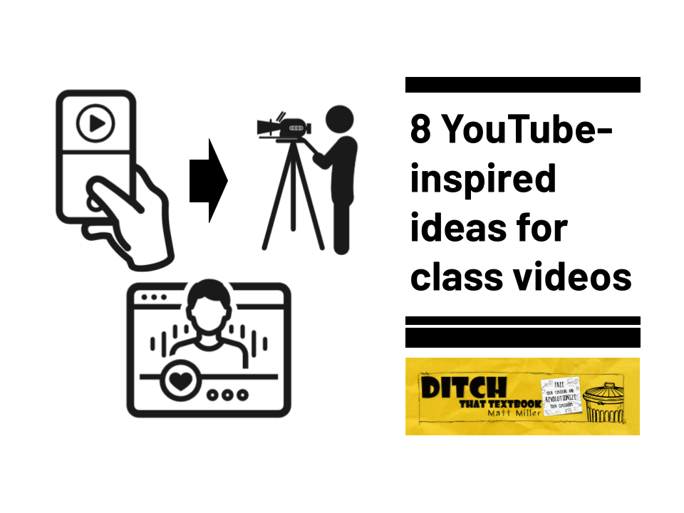 8 youtube inspired ideas for class videos (1)