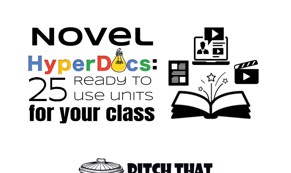 Novel HyperDocs: 25 ready to use units for your class
