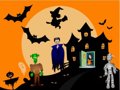 Halloween Haunt Digital Escape Room