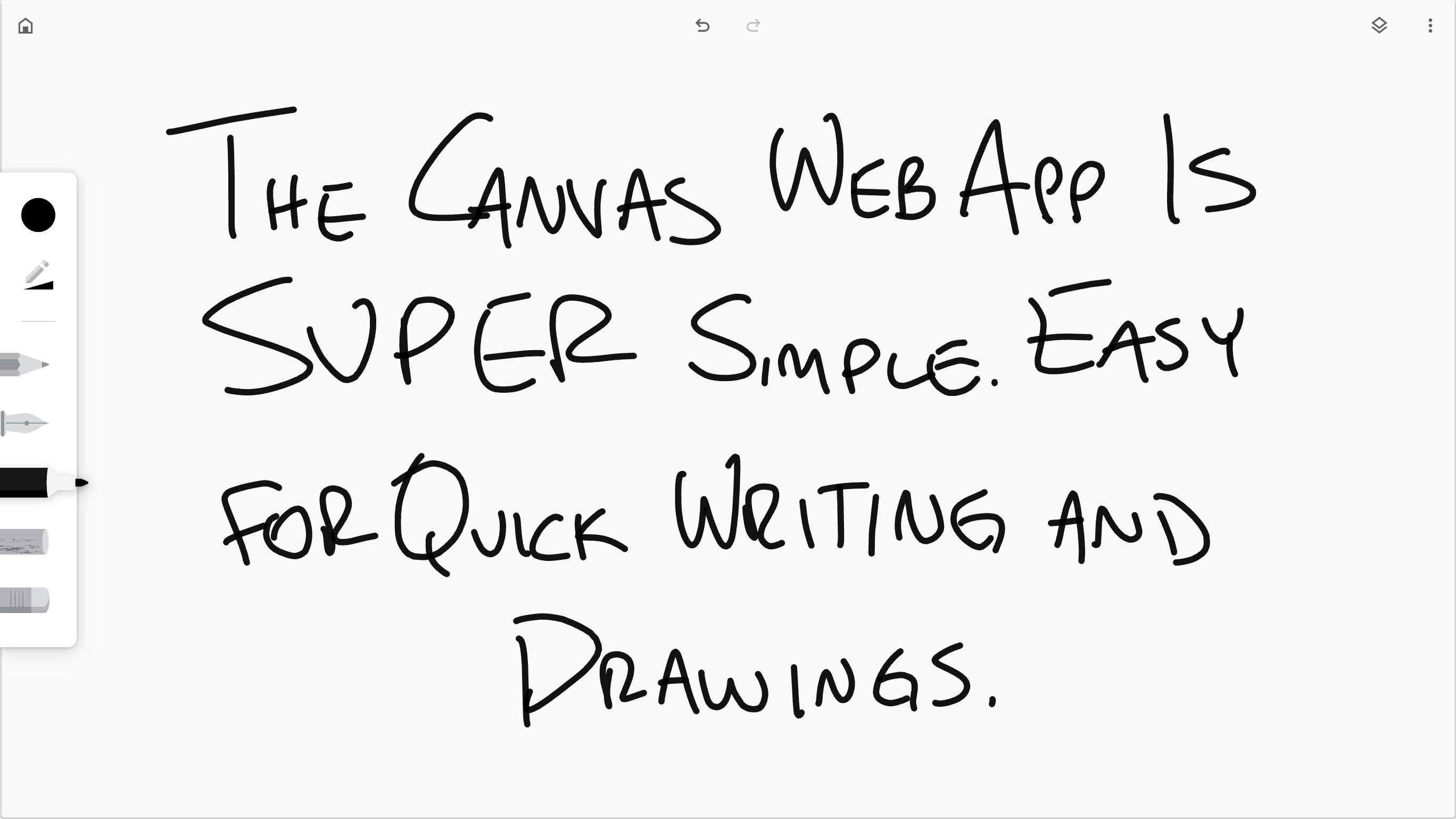 Canvas Chrome App example