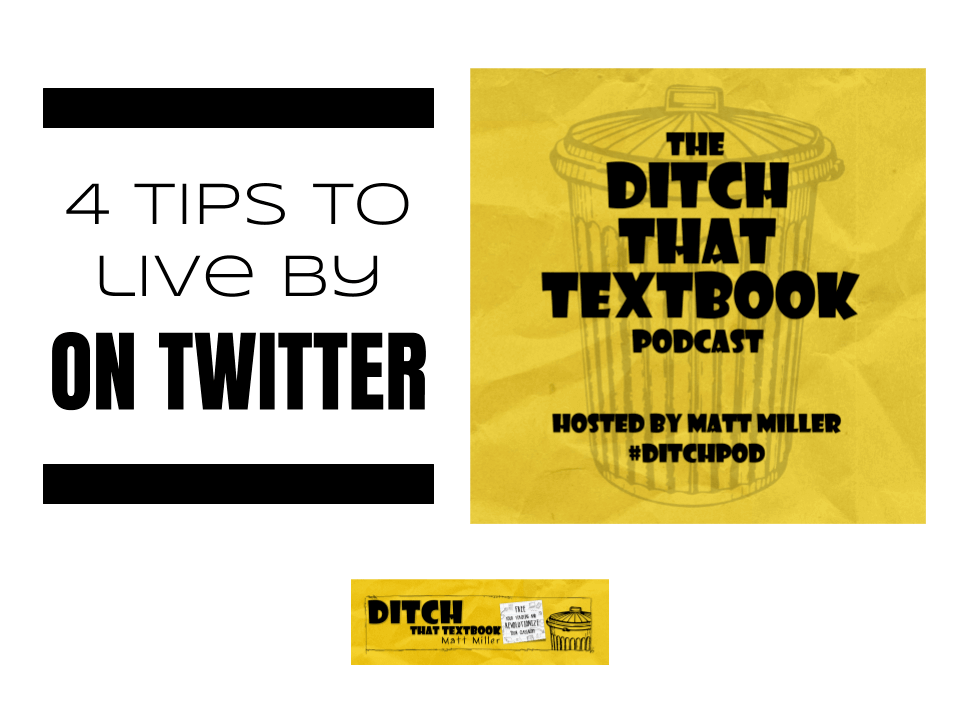 4 tips to live by on twitter