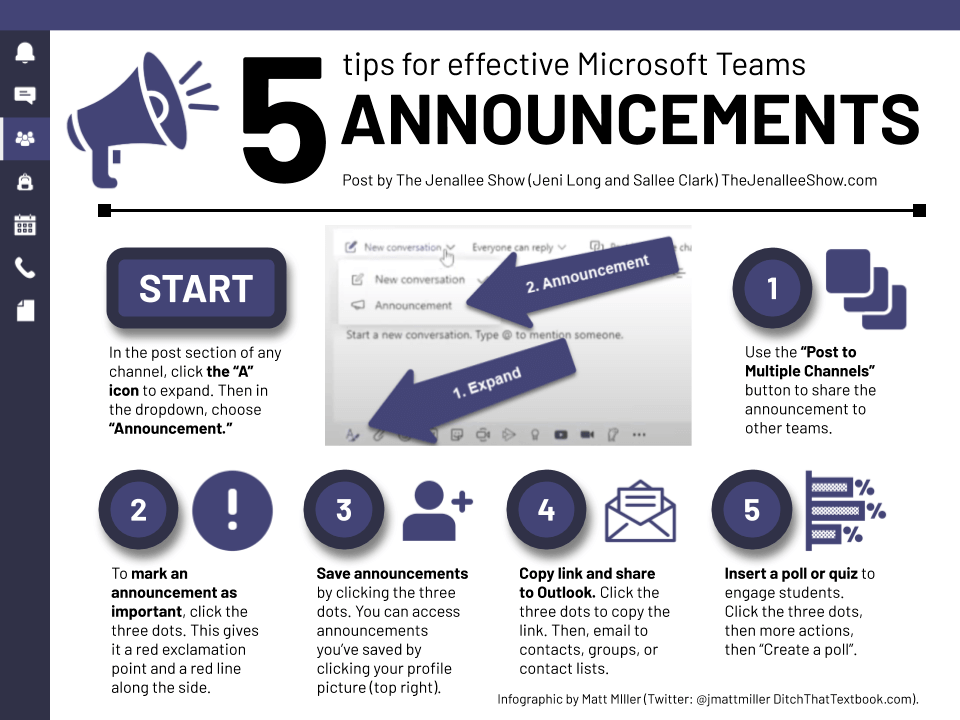 5 tips for effective microsoft teams announcements Icon