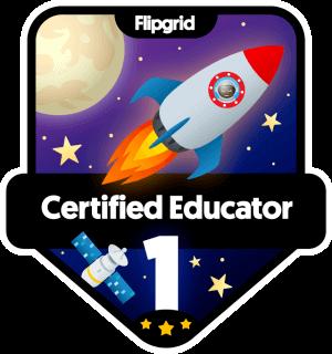 flipgrid certified educator badge