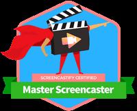 Screencastify master screencaster