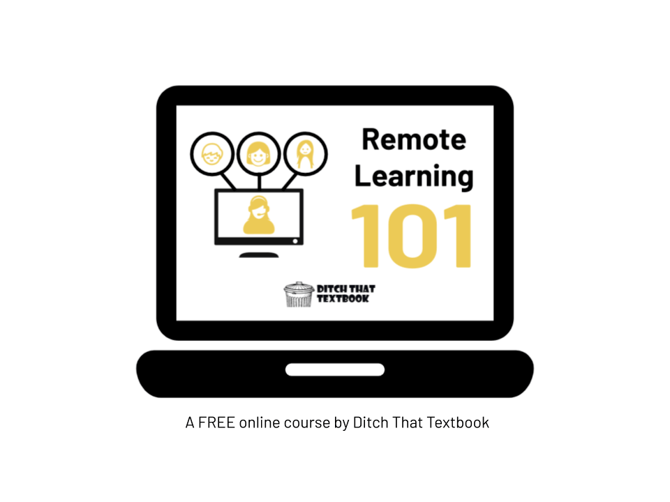 Remote Learning 101 Computer Icon