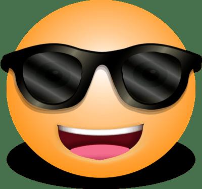 sunglasses emoji