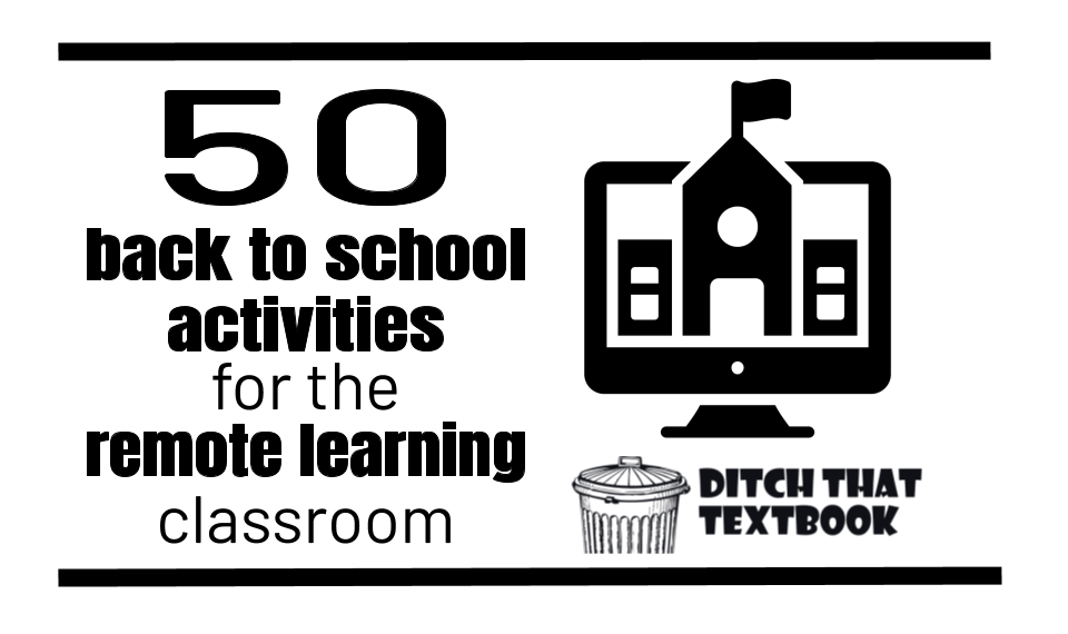 50+ back to school activities