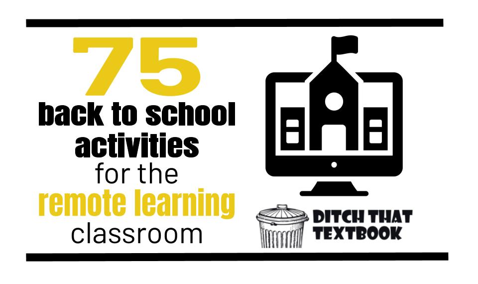 75 back to school activities