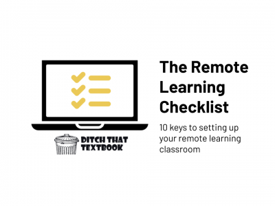 The remote learning checklist