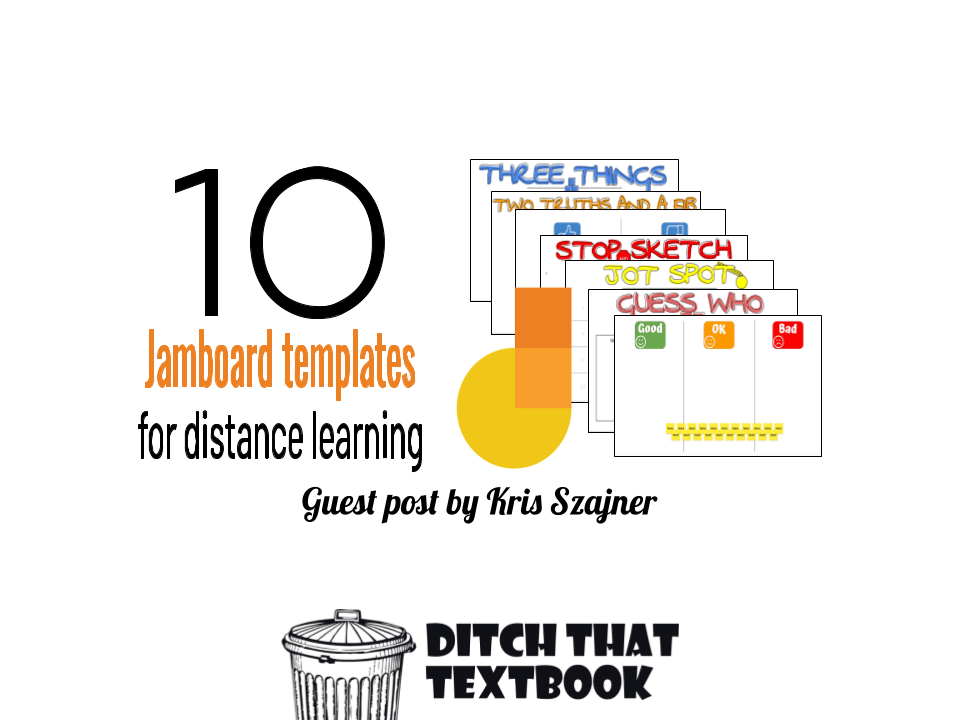 10 Jamboard Templates for Distance Learning