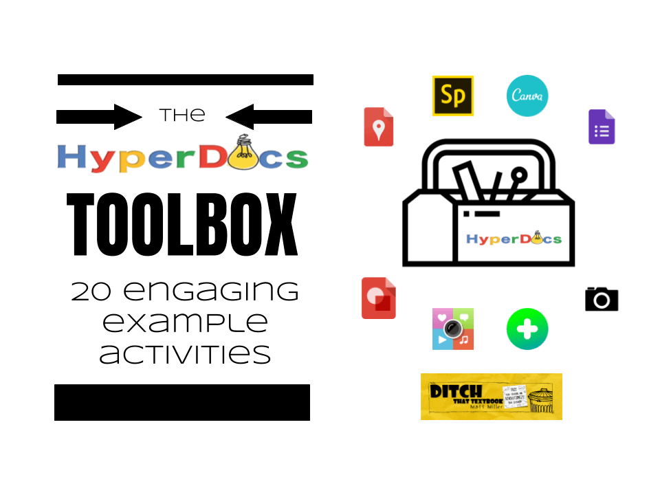 Hyperdocs toolbox engaging example activities