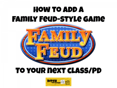add family feud style game to class pd