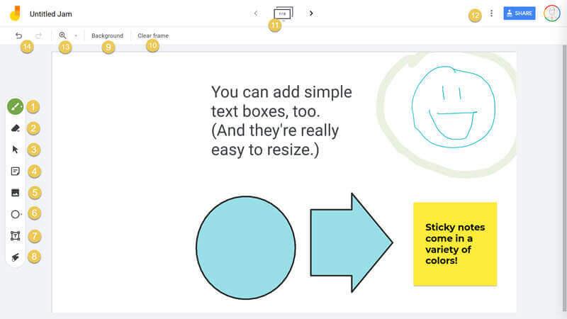 jamboard overview screenshot